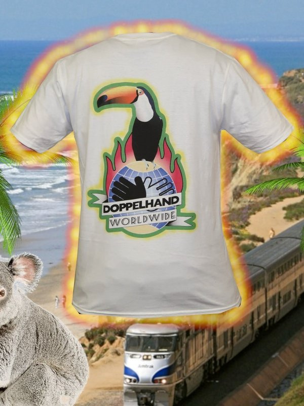 """DOPPELHAND WORLDWIDE"" Shirt"